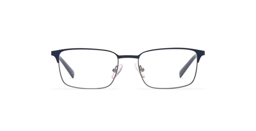 Gafas graduadas hombre ALPHONSE azul - vista de frente
