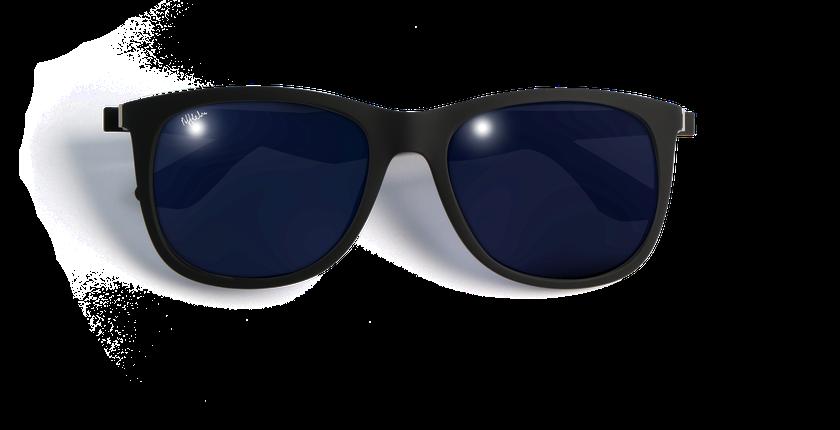 Gafas de sol hombre TIVOLI POLARIZED negro - vista de frente
