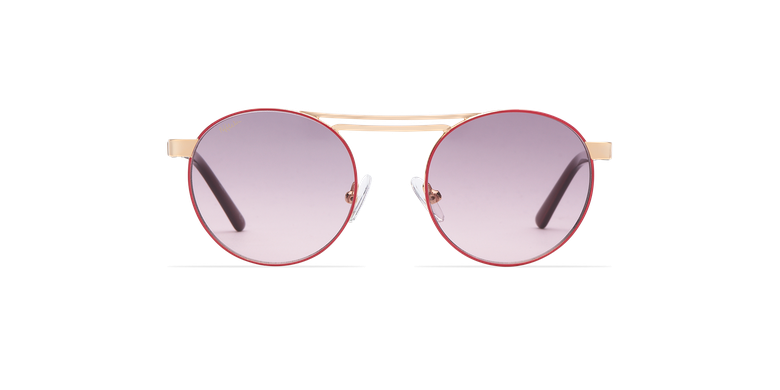 Gafas de sol mujer ROMY rosa/dorado