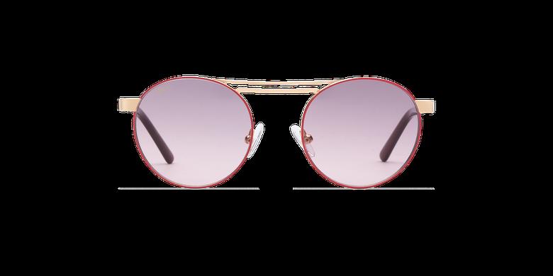 Gafas de sol mujer ROMY rosa/doradovista de frente