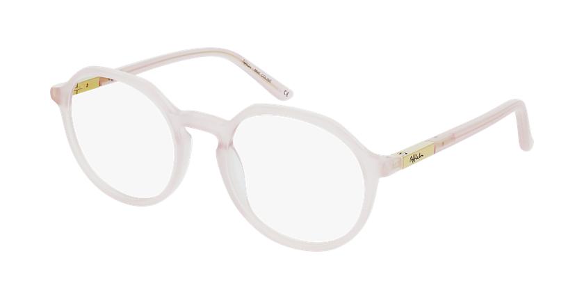Gafas graduadas mujer COLINE rosa - vue de 3/4