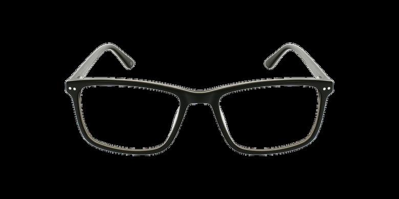 Gafas graduadas hombre GWENDAL negro/grisvista de frente