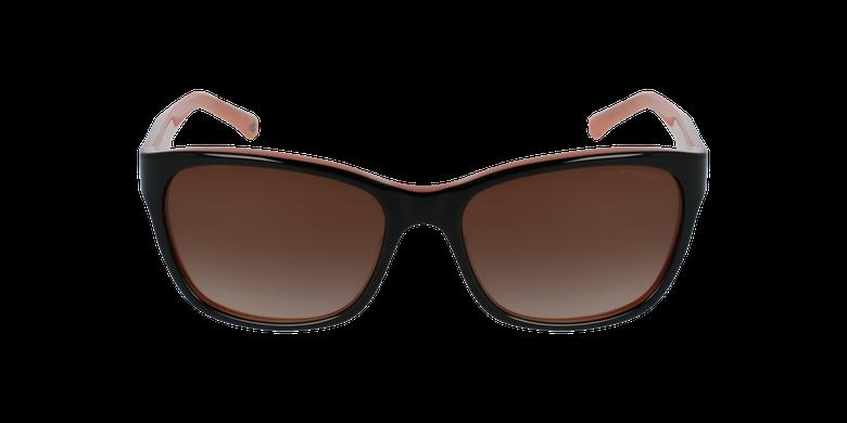 Gafas de sol mujer 0EA4004 negro/rosavista de frente