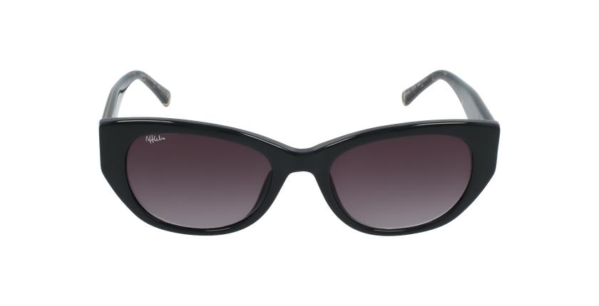 Gafas de sol mujer VANESSA negro - vista de frente