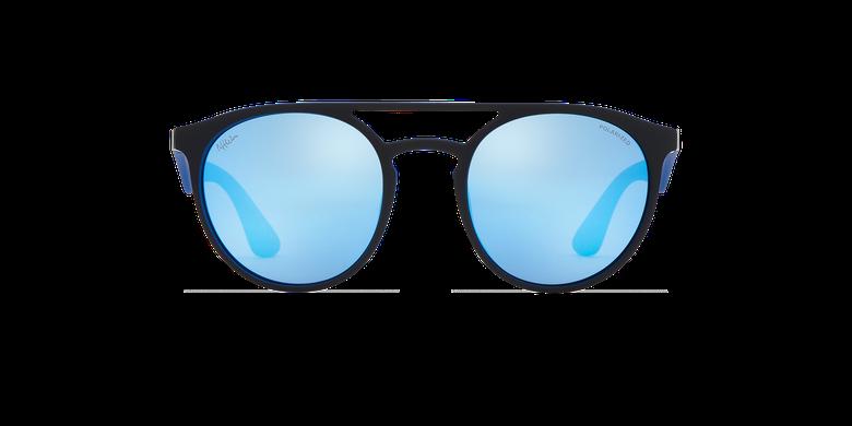 Gafas de sol LIONI POLARIZED negro/moradovista de frente