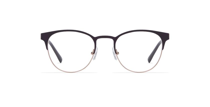 Gafas graduadas mujer FANTINE morado - vista de frente