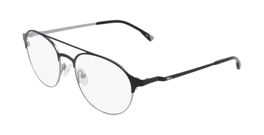Gafas graduadas hombre MAGIC 52 BLUEBLOCK negro/gris - vue de 3/4