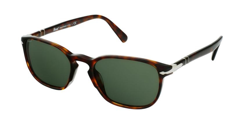 Gafas de sol hombre PO3234S carey/negro - vue de 3/4