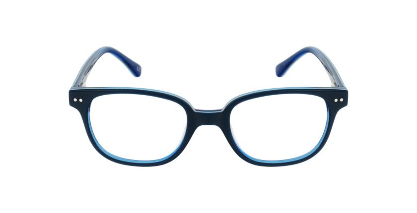 Gafas graduadas niños MARCEL azul - vista de frente