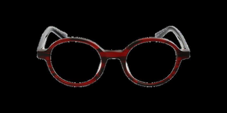 Gafas graduadas mujer OAF21619 rojovista de frente