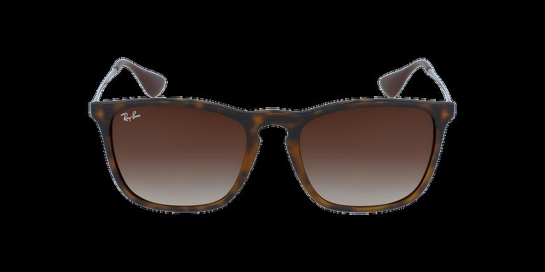 Gafas de sol hombre CHRIS negro/grisvista de frente