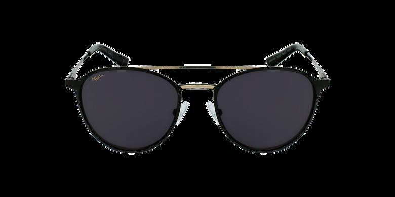 Gafas de sol MAC negro/doradovista de frente