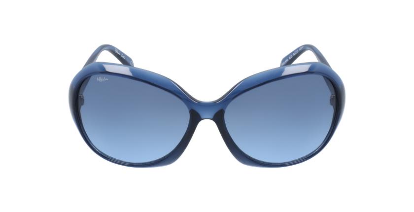 Gafas de sol mujer LARA azul - vista de frente
