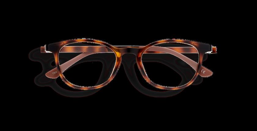 Gafas graduadas mujer MAGIC 18 carey/carey brillante - vista de frente