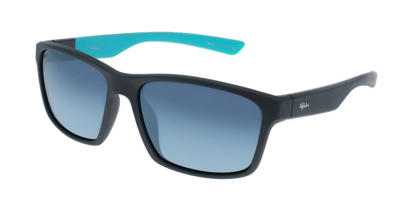 Gafas de sol hombre AUSTIN gris/azul - vue de 3/4
