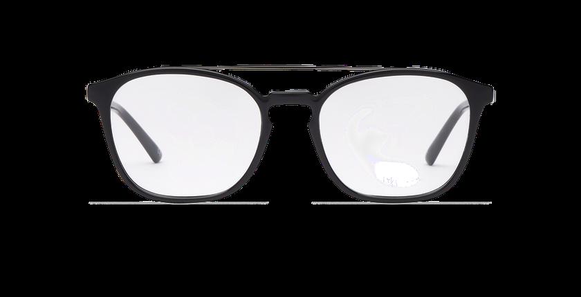 Gafas graduadas hombre CLOVIS negro - vista de frente