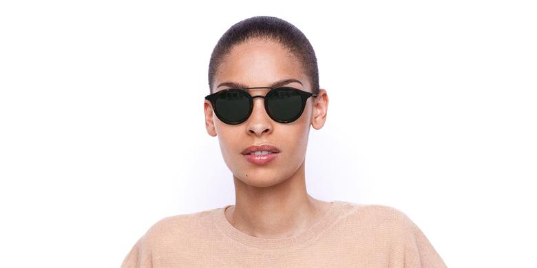 Gafas de sol mujer ITABATA carey/negro