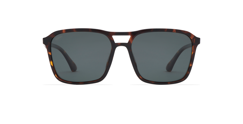 Gafas de sol hombre TAVERIO POLARIZED carey - vista de frente