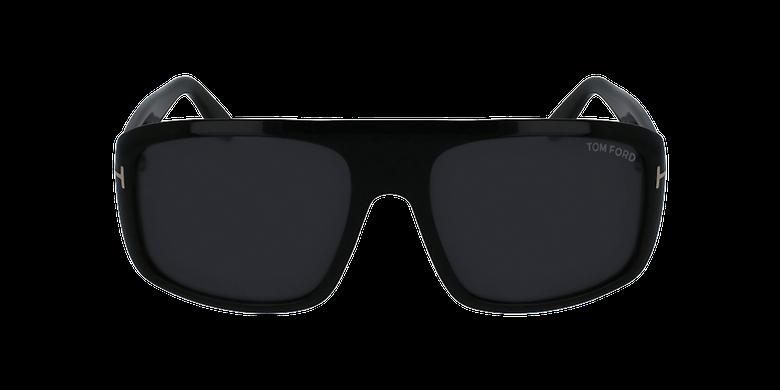 Gafas de sol hombre DUKE negrovista de frente