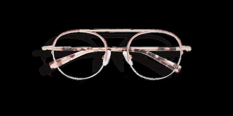 Gafas graduadas mujer REBECCA rosa/dorado