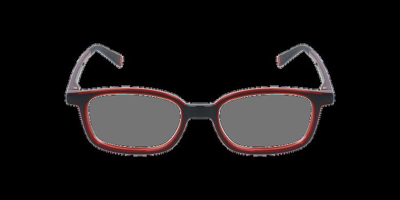 Gafas graduadas niños RFOP1 negro/rojo