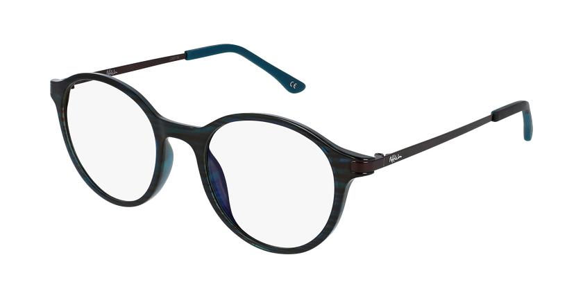 Gafas graduadas mujer MAGIC 37 BLUE BLOCK verde - vue de 3/4