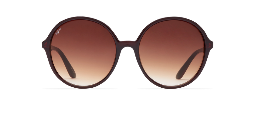 Gafas de sol mujer ASIOCA rojo - vista de frente