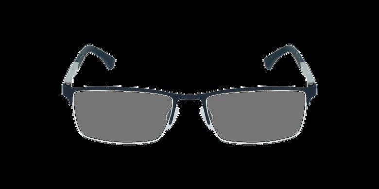 Gafas graduadas hombre EA1041 negro/grisvista de frente