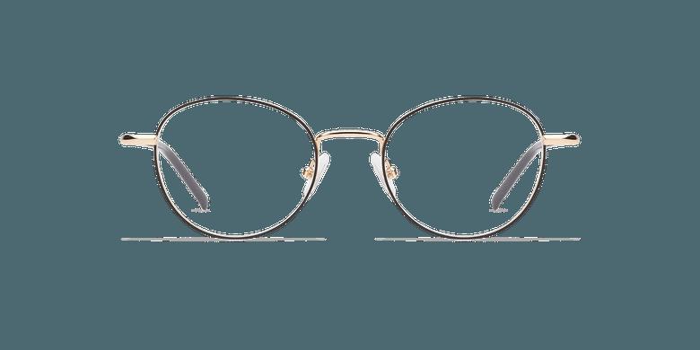 Gafas graduadas mujer NELIA negro/dorado