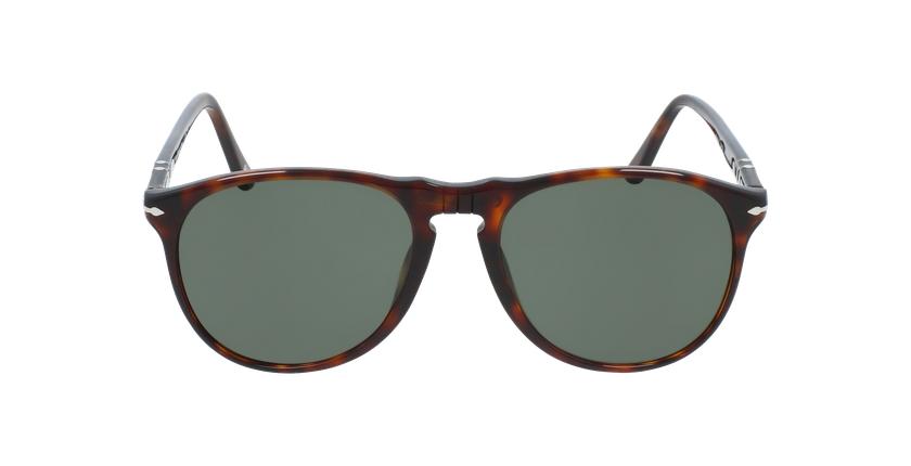 Gafas de sol hombre 0PO9649S marrón - vista de frente