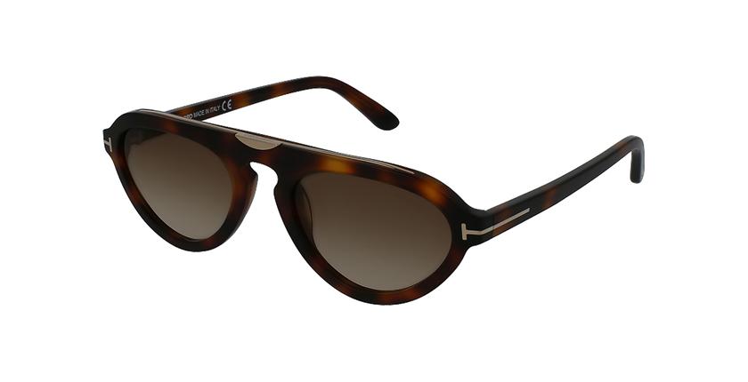 Gafas de sol hombre EUGENIO marrón - vue de 3/4