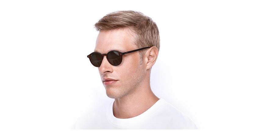 Gafas de sol LOIS rojo/rojo - vue de 3/4