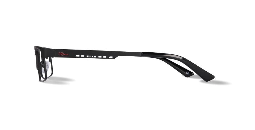 Gafas graduadas hombre HUGO negro - vista de lado