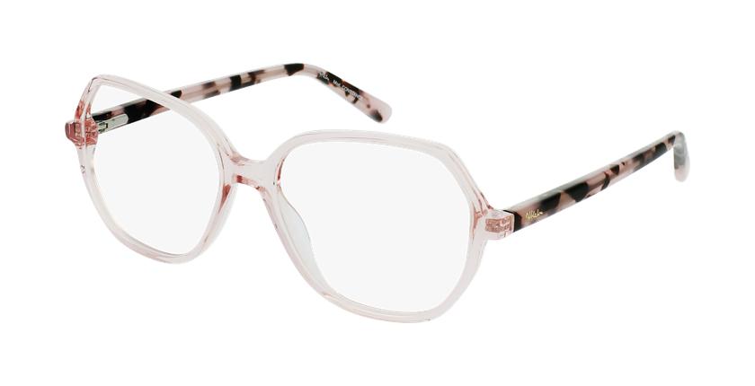 Gafas graduadas mujer CONSTANCE rosa - vue de 3/4