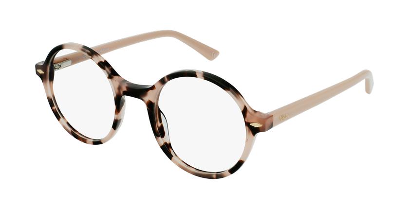 Gafas graduadas CAMELIA carey/rosa - vue de 3/4