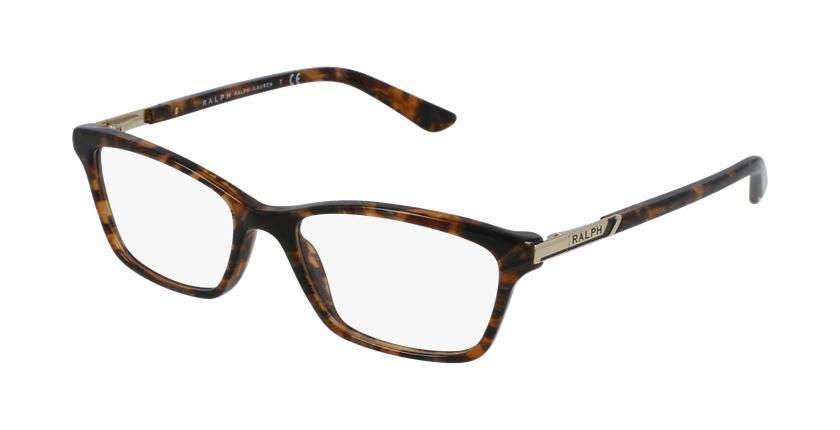 Gafas graduadas mujer RA7044 carey/carey - vue de 3/4