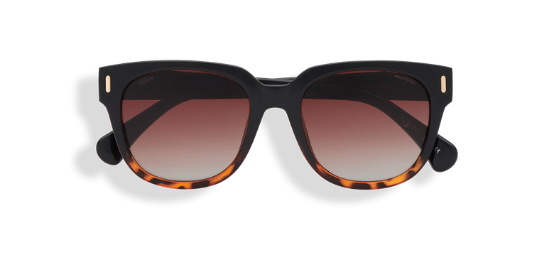Gafas de sol mujer MONOI POLARIZED negro/carey