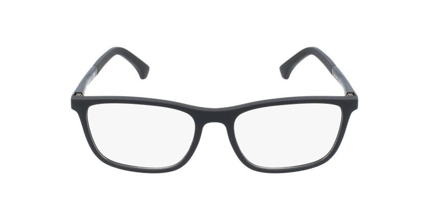 Gafas graduadas hombre EA 3069 negro/negro - vista de frente
