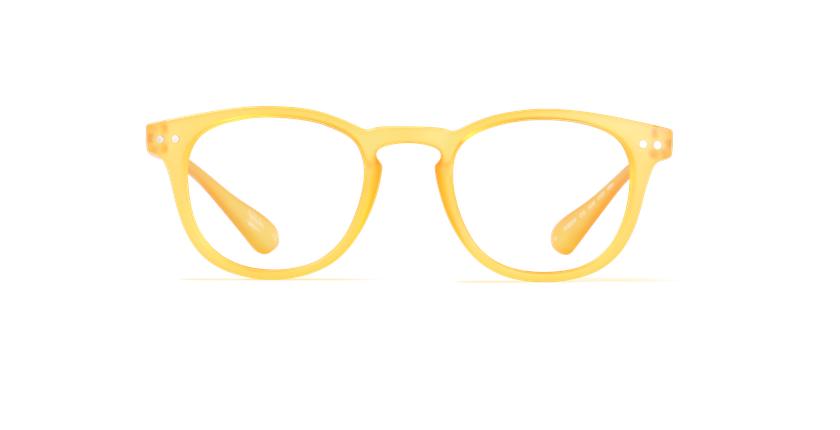 Gafas graduadas BLUE BLOCK UNISEX amarillo - vista de frente