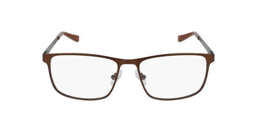 Gafas graduadas hombre GERMAIN marrón - vista de frente