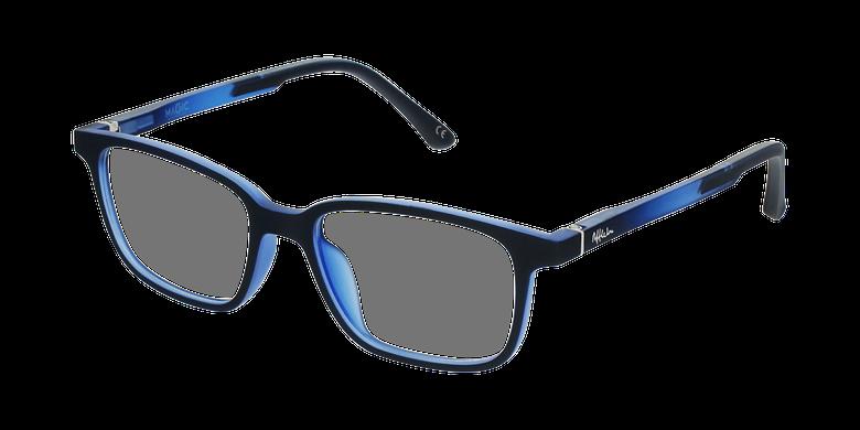 Gafas graduadas niños MAGIC 76 ECO-RESPONSABLE azulvue de 3/4
