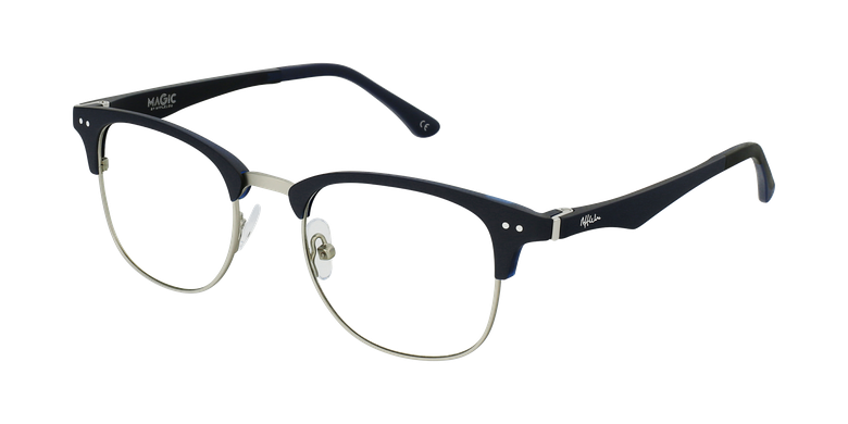 Gafas graduadas TMG92 azul/plateado