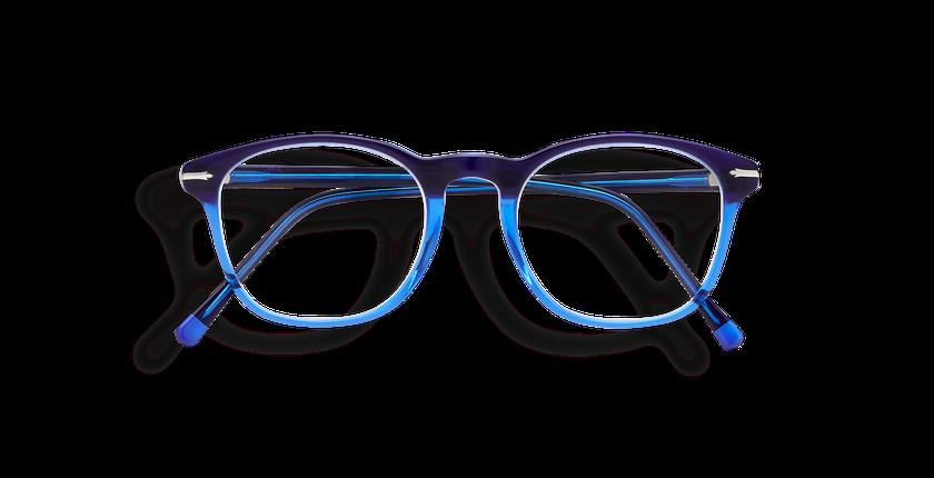 Gafas graduadas hombre LONGCHAUMOIS azul - vista de frente
