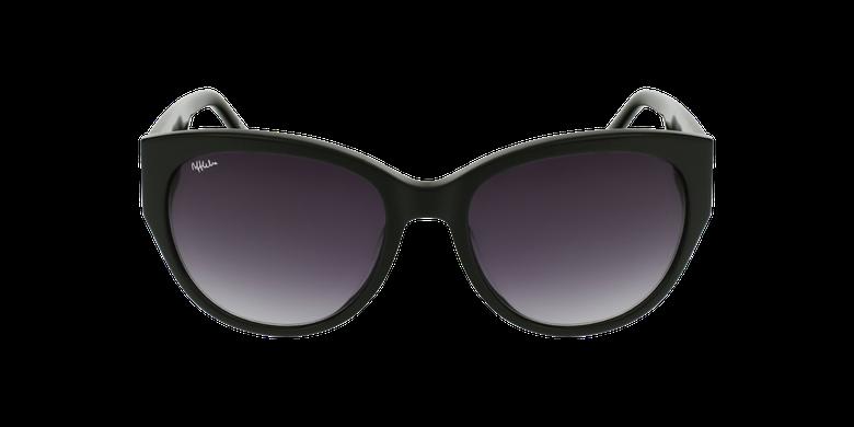 Gafas de sol mujer AMELIE negrovista de frente