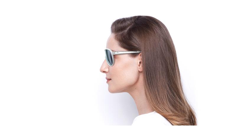 Gafas de sol SALVA blanco - vista de lado