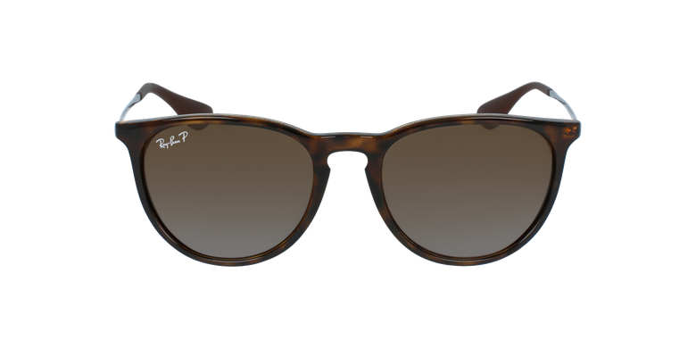 Gafas de sol ERIKA marrónvista de frente