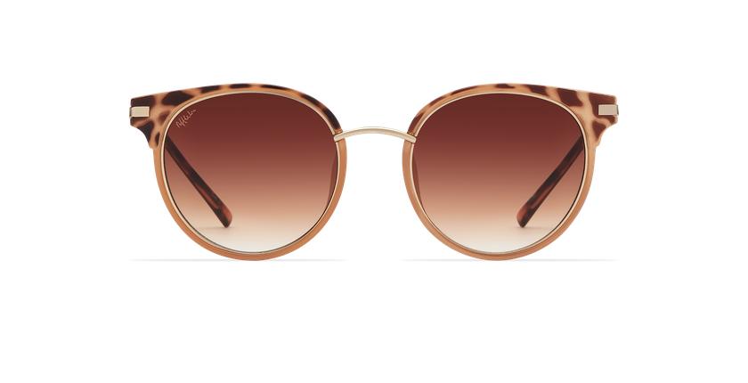 Gafas de sol mujer BARCELO carey/marrón - vista de frente