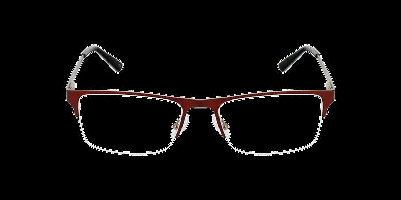 Gafas graduadas hombre OAH21625 rojo/plateado