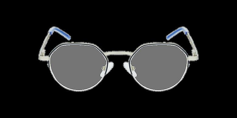 Gafas graduadas mujer LAM azul/doradovista de frente