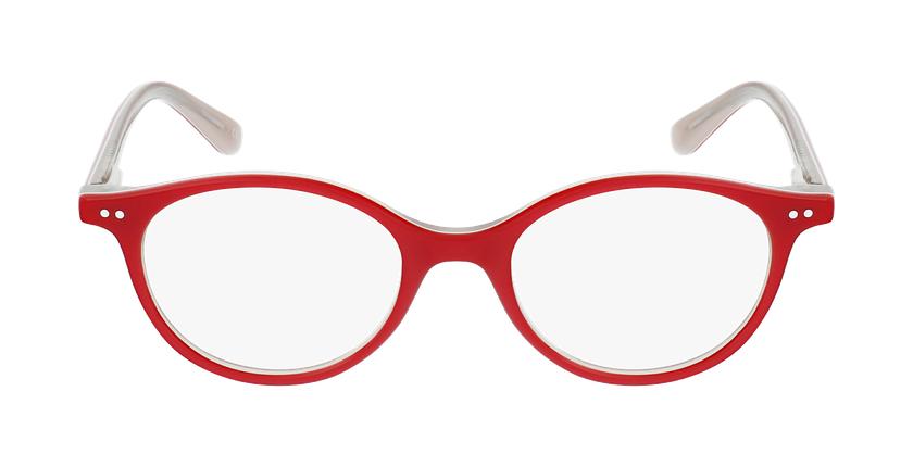 Gafas graduadas niños CAPUCINE rosa/rosa - vista de frente